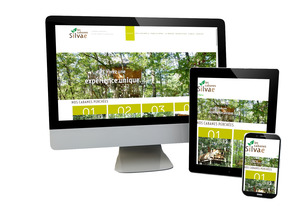 Les Cabanes Silvae NEW RESPONSIVE !