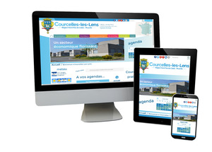 Courcelles-les-Lens/ Version Responsive